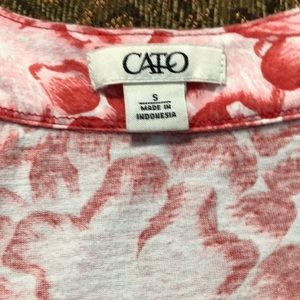 Cato Tops - Small flowered tank top